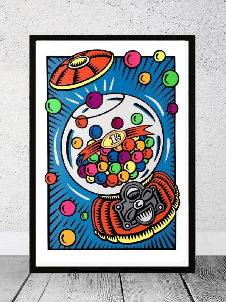 Gumball by Burton Morris
