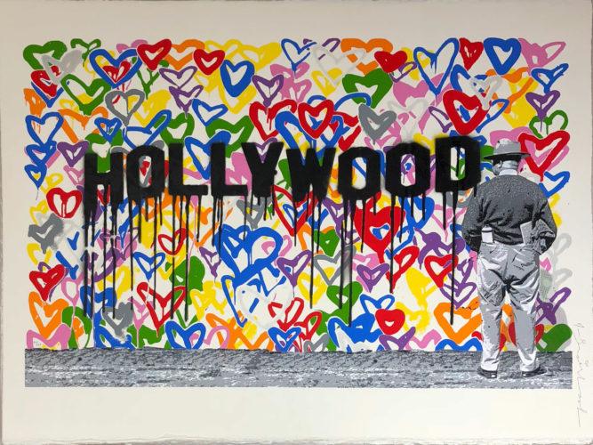 Hollywood by Mr. Brainwash at Mr. Brainwash