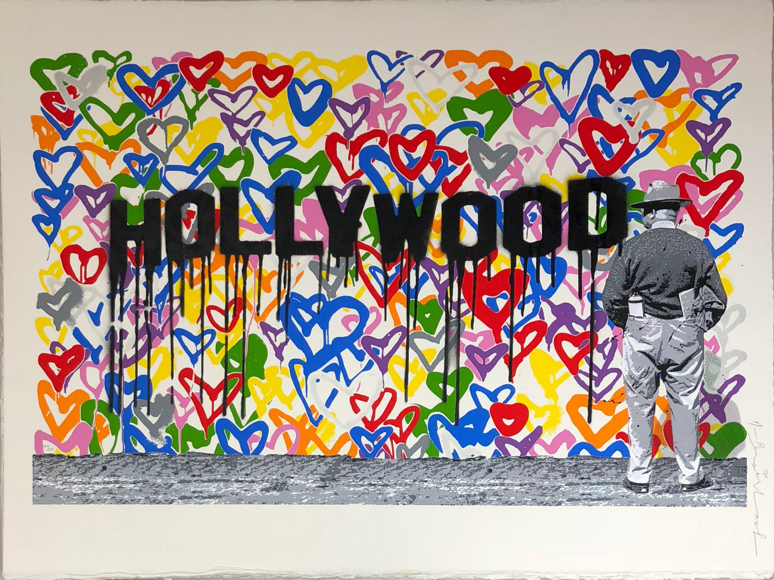 Hollywood by Mr Brainwash