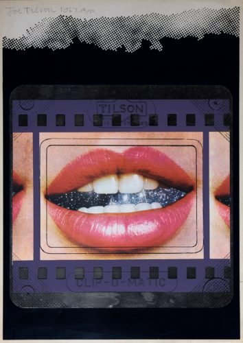 Transparency, Clip O Matic Lips by Joe Tilson at