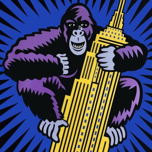 King Kong by Burton Morris