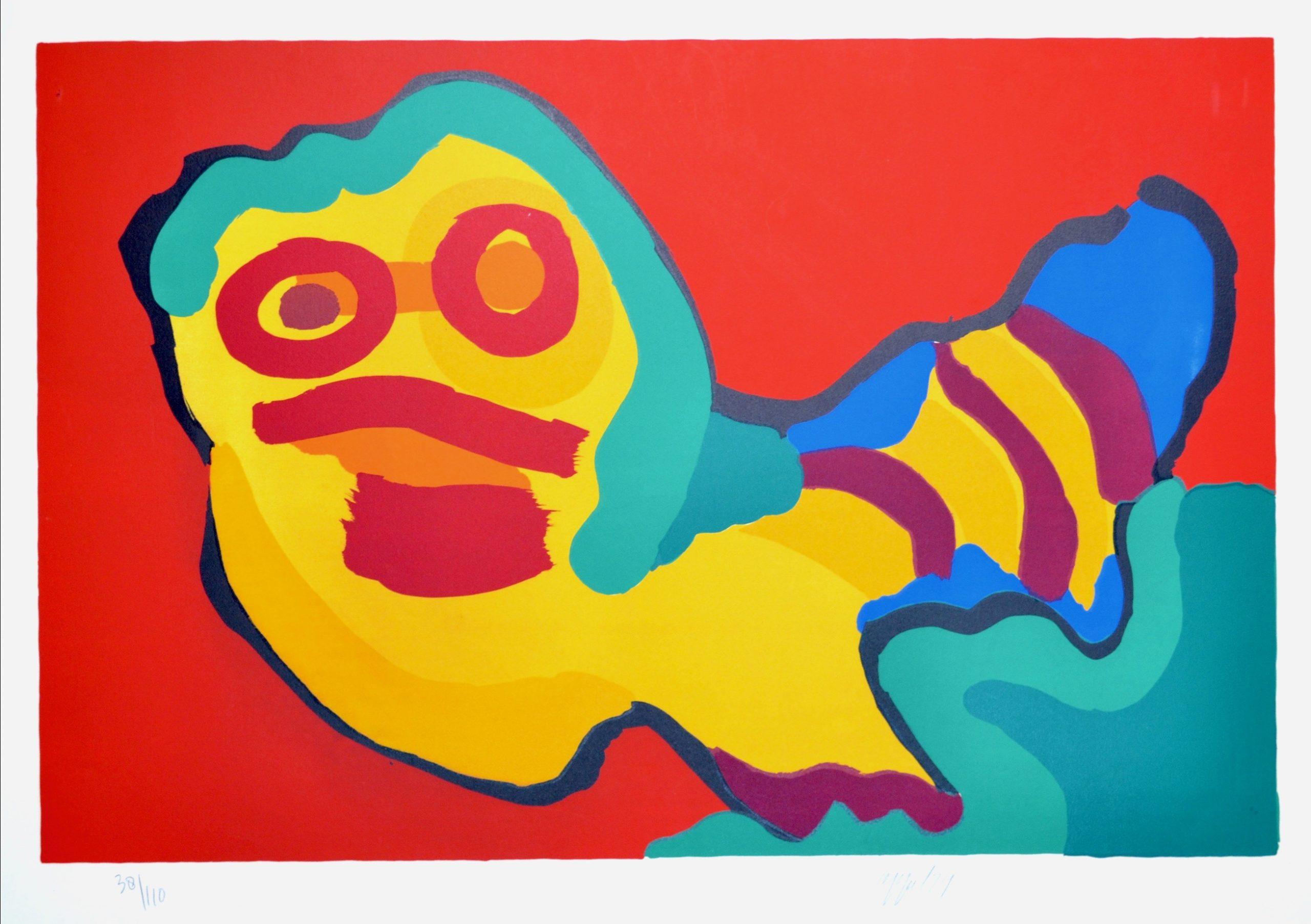 Sunshine People by Karel Appel