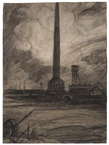 Ziegelei (brickworks) by Alfred Kubin