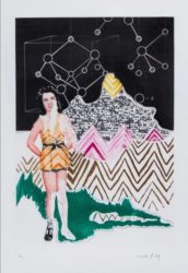 Homage To Linus Pauling – On The Moon by Man Ray at Kunzt