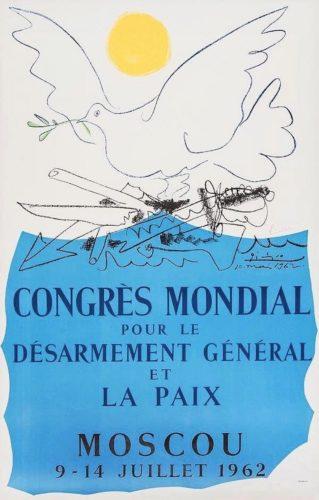 Congrès Pour La Paix by Pablo Picasso