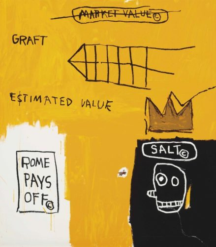 Rome Pays Off by Jean-Michel Basquiat at Jean-Michel Basquiat
