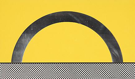 Landscape 7 by Roy Lichtenstein