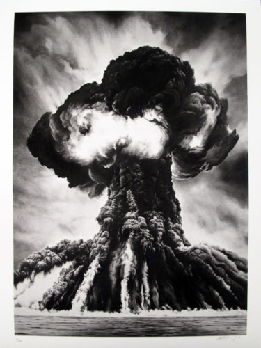 Russian Bomb by Robert Longo