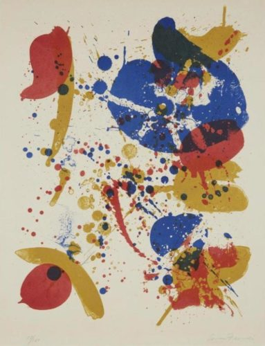 #6 From by Sam Francis