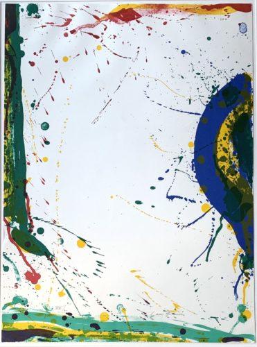 Untitled (sf-315) by Sam Francis