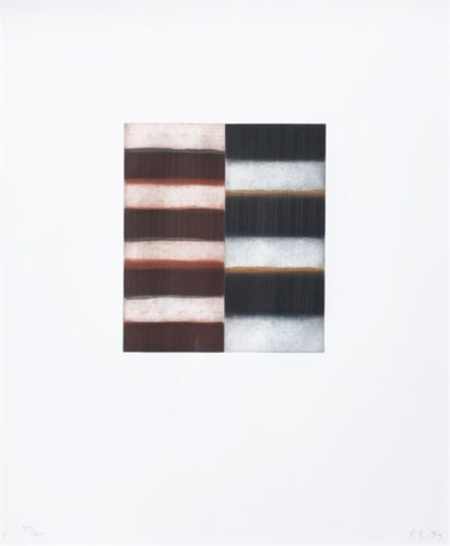 Untitled (from Seven Mirrors) by Sean Scully at
