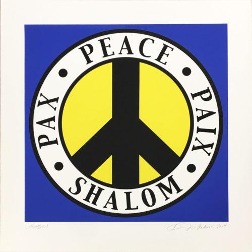 Shalom by Robert Indiana
