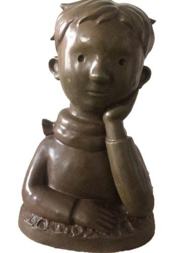 Little Prince by Shen Jingdong at www.kunzt.gallery