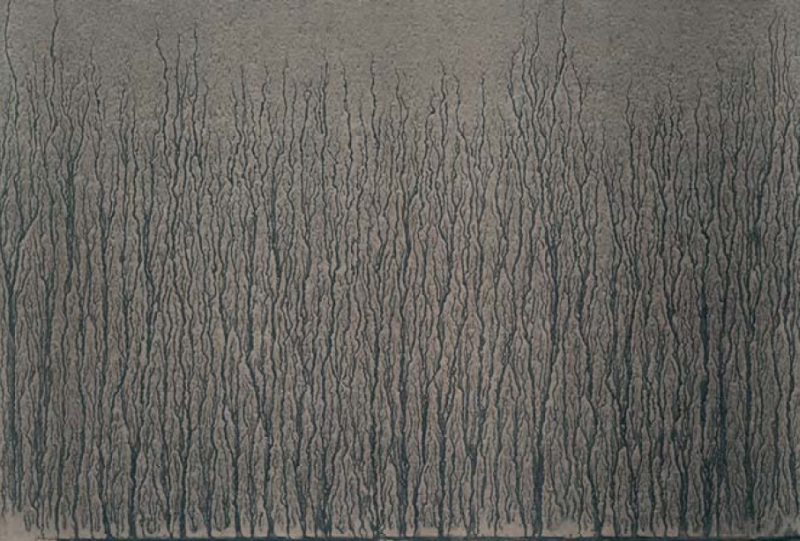"""Image C From: """"river Avon Mud Drawings"""" by Richard Long"""