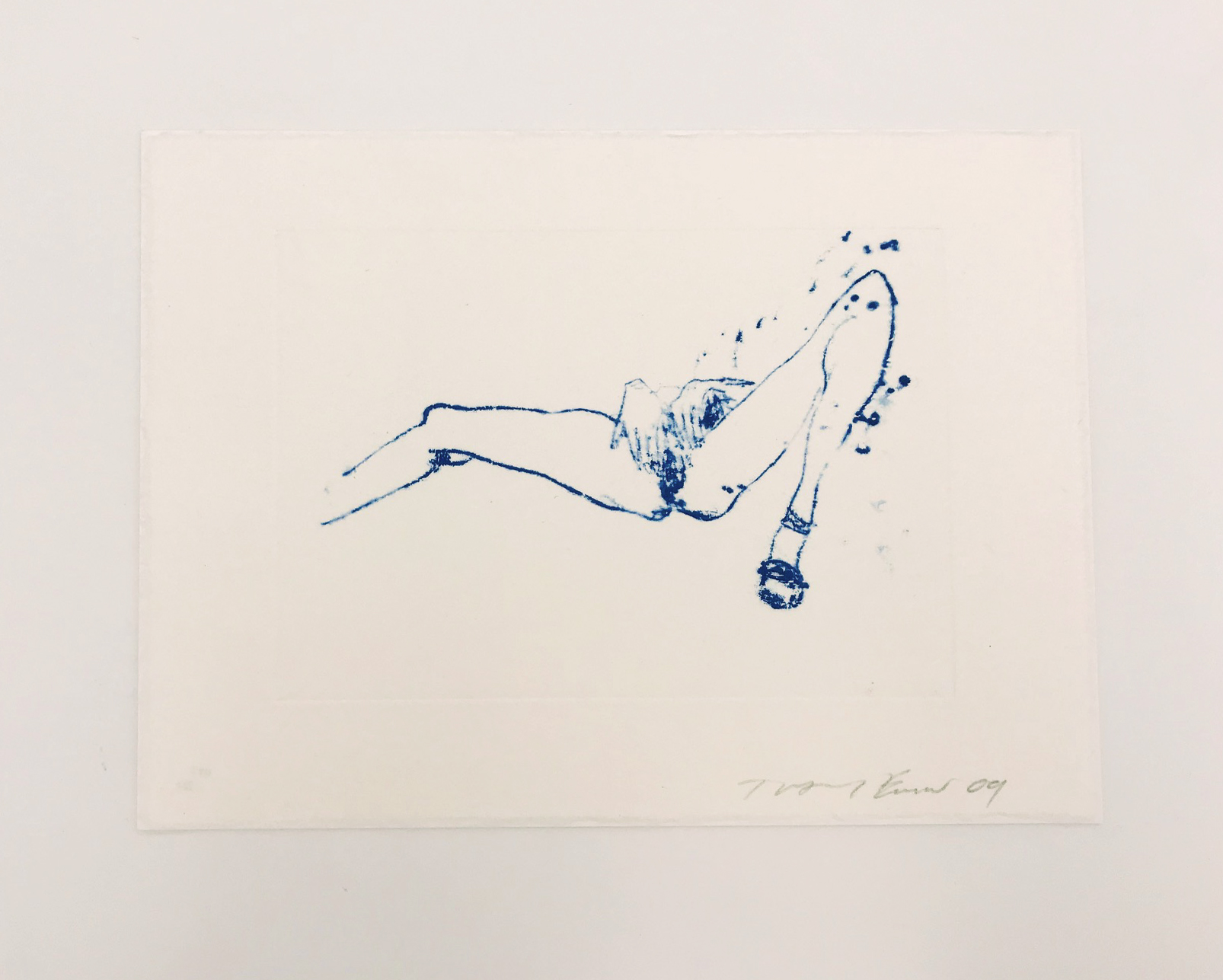 Suffer Love (from One Thousand Drawings) by Tracey Emin