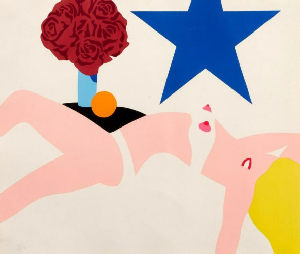 Great American Nude by Tom Wesselmann