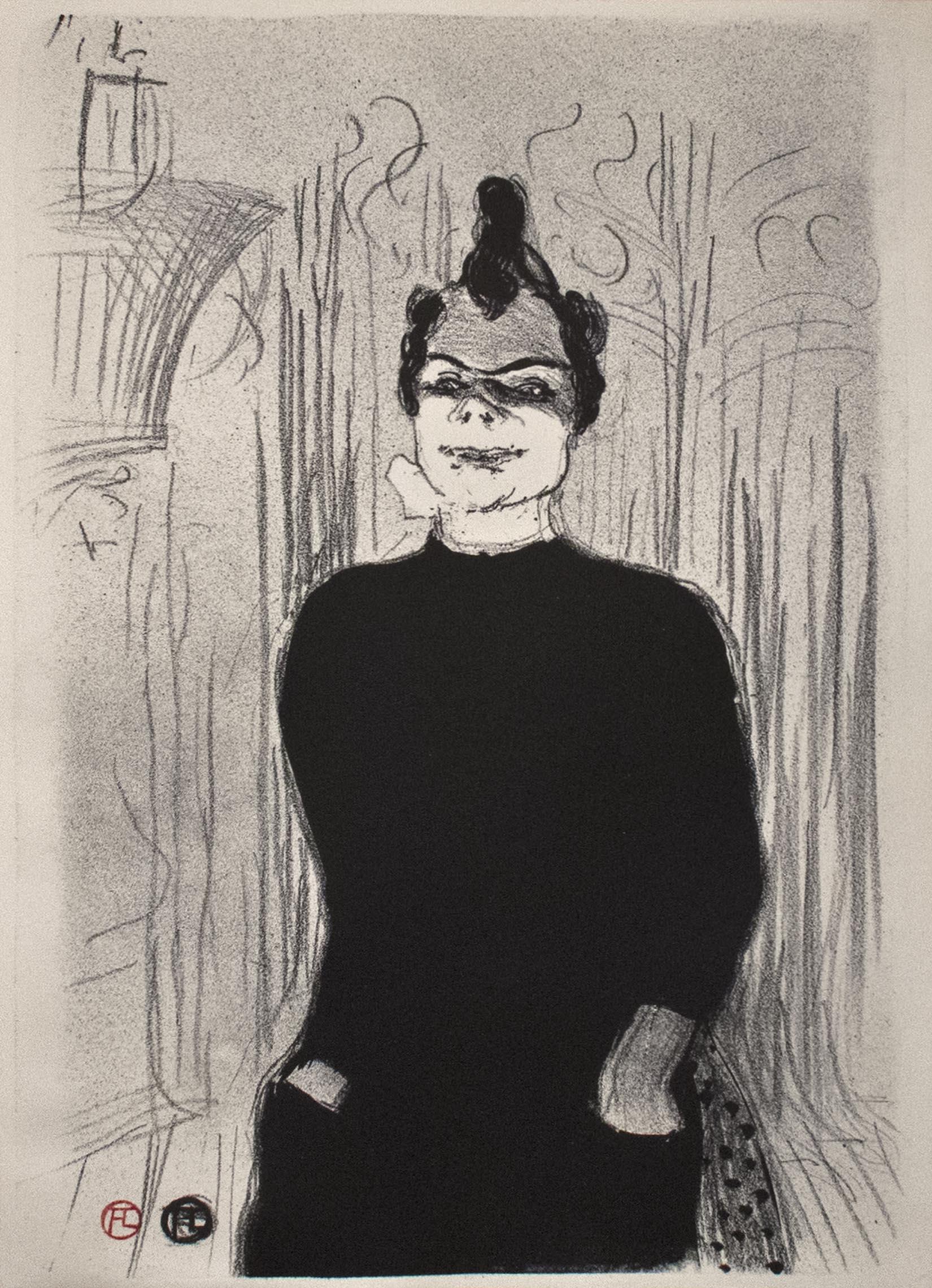 A La Gaieté Rochechouart: Nicolle by Henri de Toulouse-Lautrec