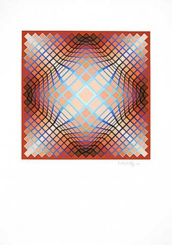 Sans Titre 2 by Victor Vasarely