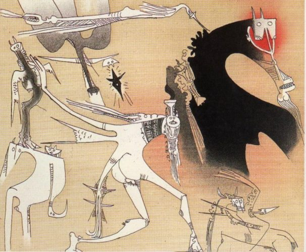Sans Titre – Xxe Siecle Plate #3 by Wifredo Lam at www.kunzt.gallery