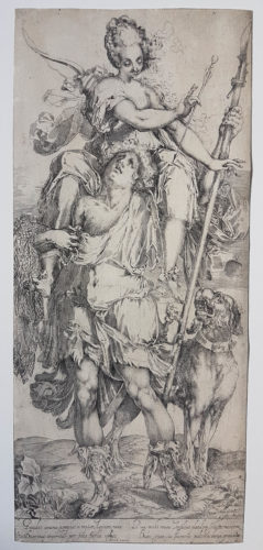 Diana And Orion by Jacques Bellange at