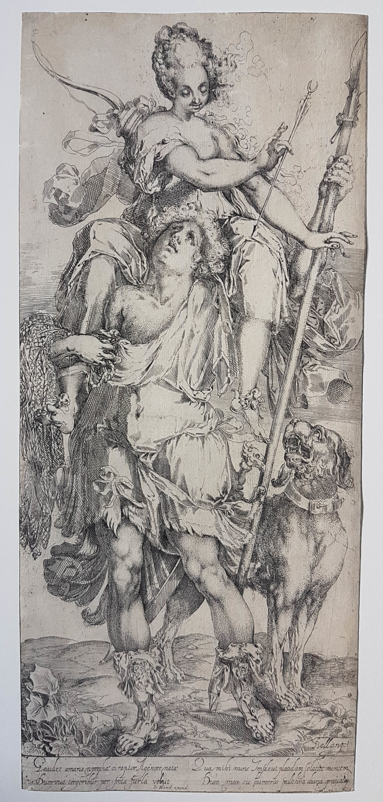 Diana And Orion by Jacques Bellange