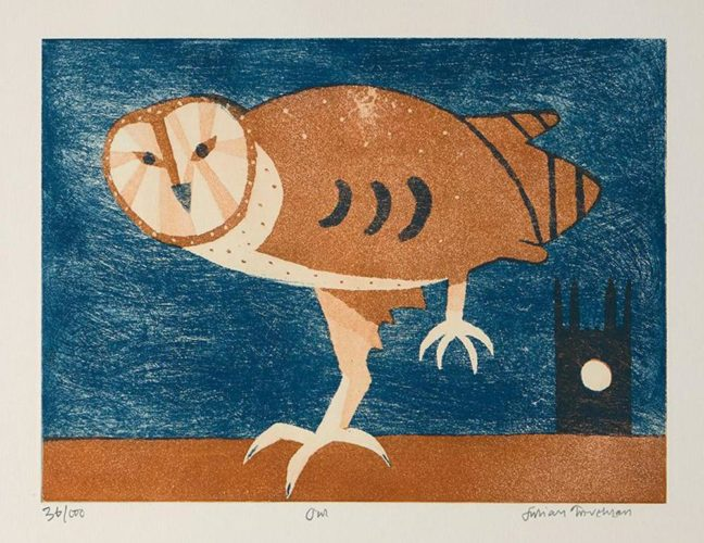 Owl by Julian Trevelyan at