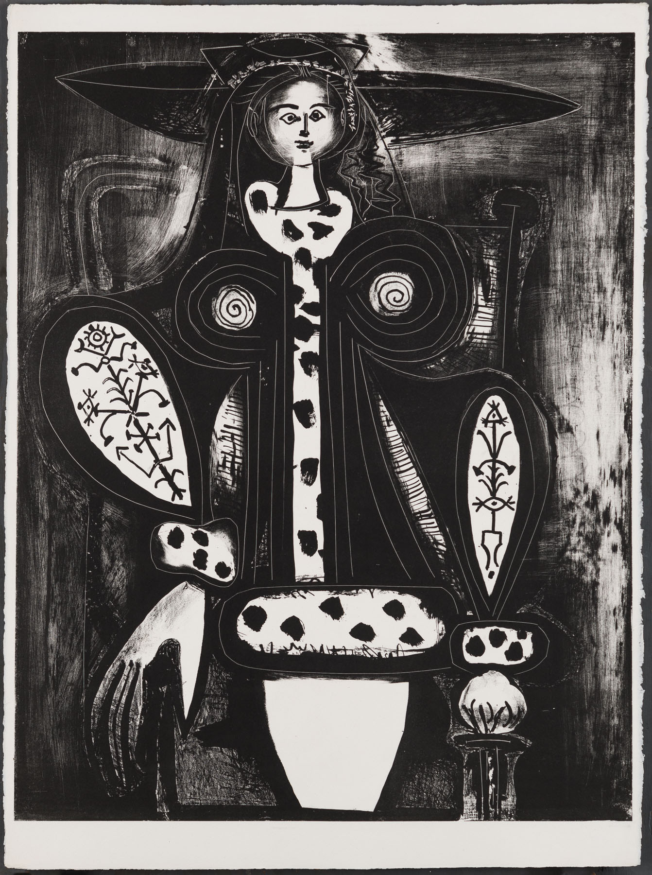 Woman In Armchair by Pablo Picasso