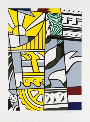 Bicentennial Print by Roy Lichtenstein at Christopher-Clark Fine Art