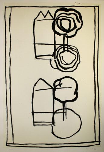Cases I Arbres 4 by Joan Hernandez Pijuan