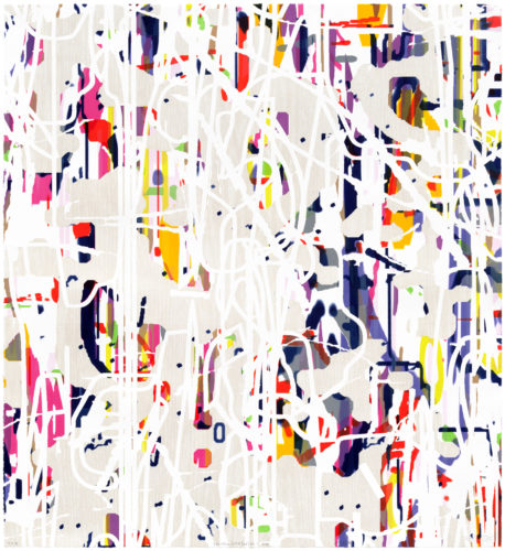 """variation (white/oak) No.1"" by Amy Ellingson"