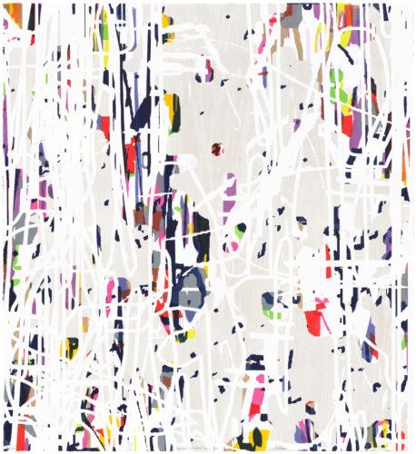 Variation (White/Oak) No.2 by Amy Ellingson