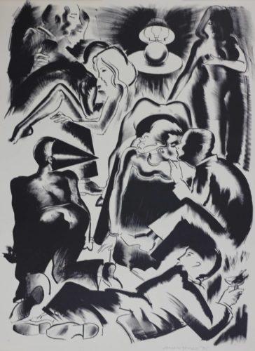 High Society by Allen Jones at De Lacey Fine Art
