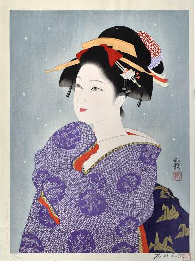First Snow by Waka Ishida
