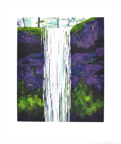 """waterfall"" by Claire Sherman"