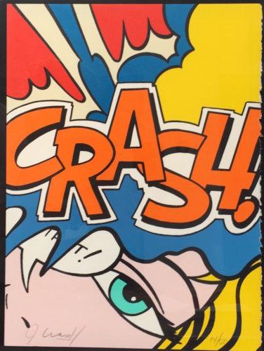 Crash Orange by John CRASH