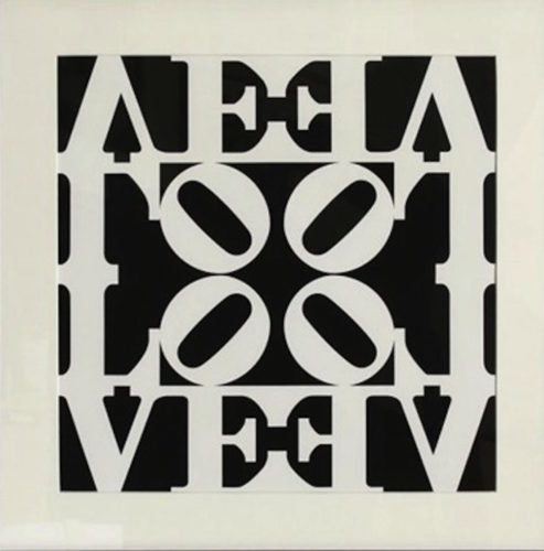 Love, From Decade Portfolio by Robert Indiana