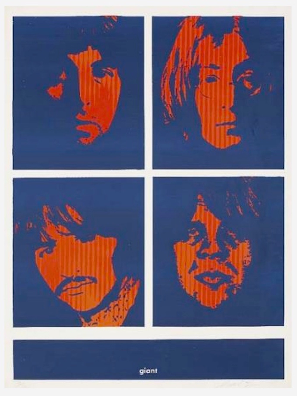 Four Giant Beatles by Shepard Fairey
