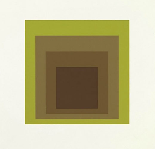 Golden Gate by Josef Albers