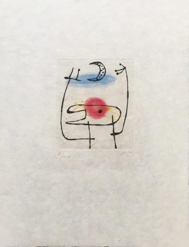 La Bague D'aurore by Joan Miro at Grabados y Litografias.com