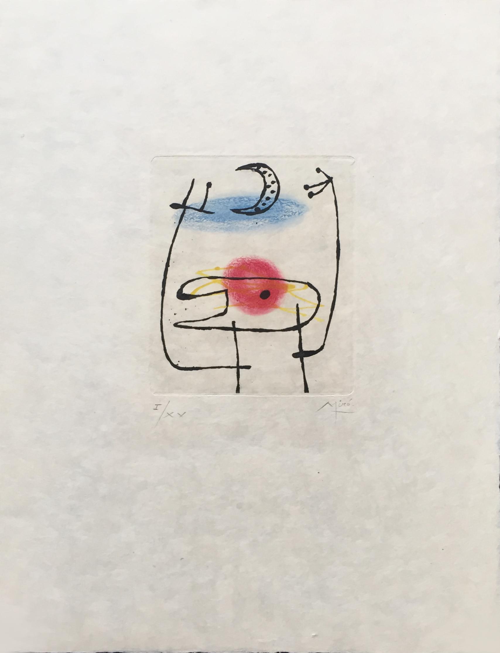 La Bague D'aurore by Joan Miro