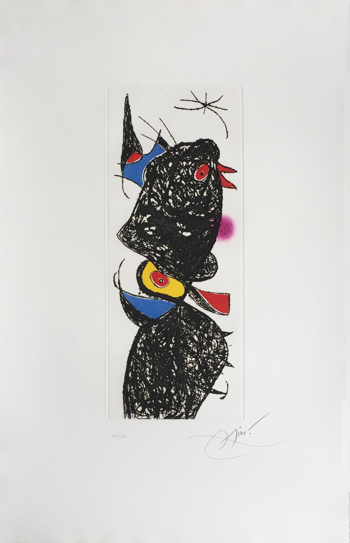 Le Coq De Bruyère by Joan Miro