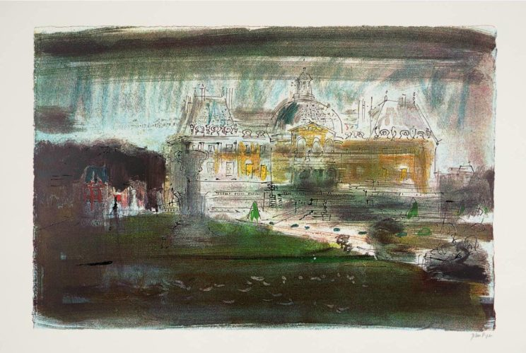Vaux-le-vicomte by John Piper at