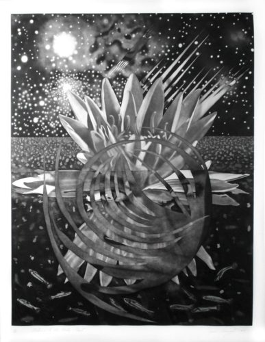 Welcome To The Water Planet by James Rosenquist