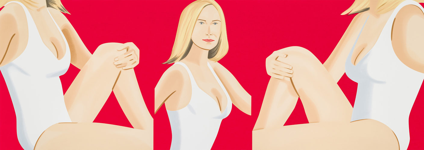 Coca-cola Girl 9 by Alex Katz
