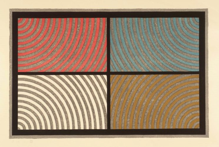 Arcs From Four Corners by Sol LeWitt