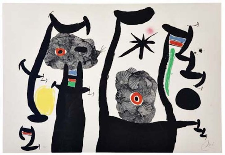 Les Coquillages by Joan Miro
