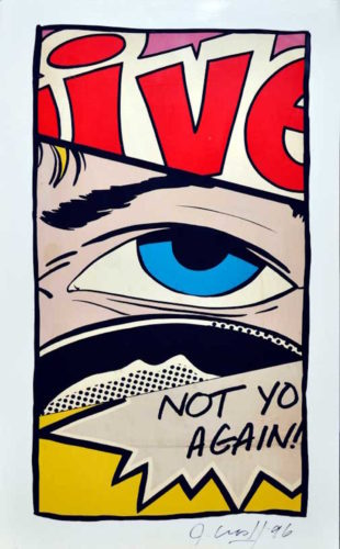 Not You Again by John CRASH
