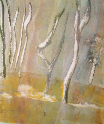 Oaks & Oleanders 15 by Deborah Freedman