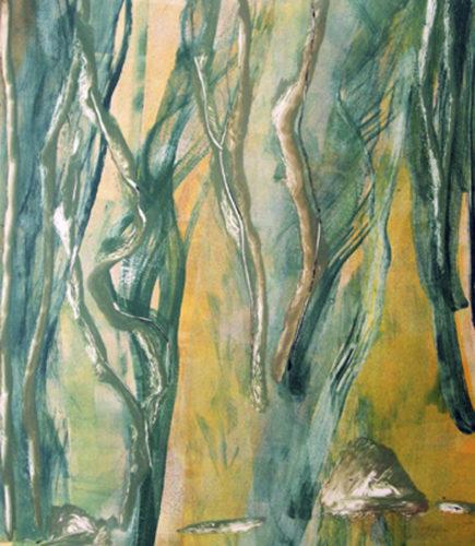 Oaks & Oleanders 7 by Deborah Freedman