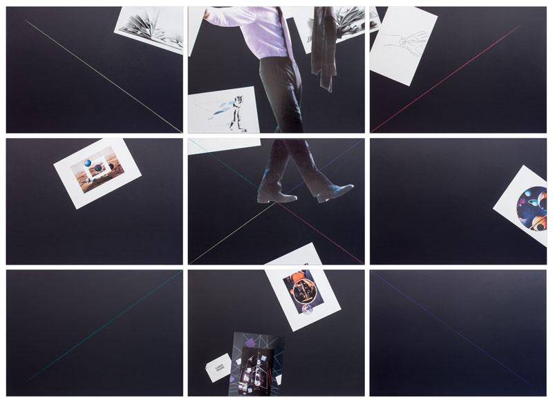 Carte Noire by Giulio Paolini